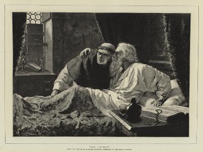 The Secret-Edmund Blair Leighton-Giclee Print