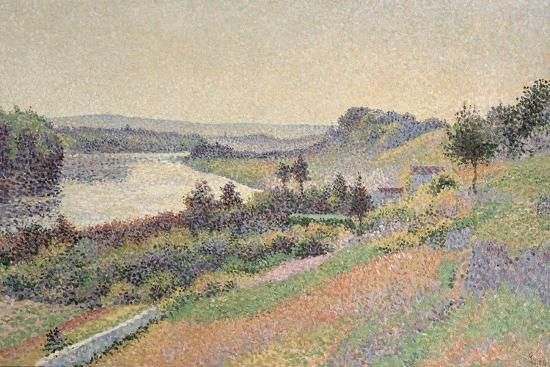 The Seine at Herblay, 1890-Maximilien Luce-Giclee Print