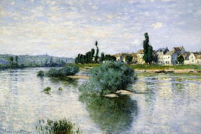 The Seine at Lavacourt-Claude Monet-Art Print
