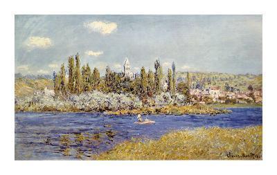 The Seine at Vetheuil-Claude Monet-Premium Giclee Print