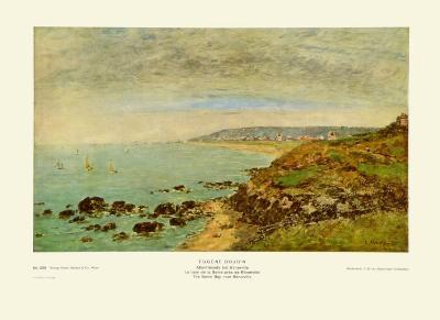 The Seine Bay near Bénerville-Eug?ne Boudin-Art Print