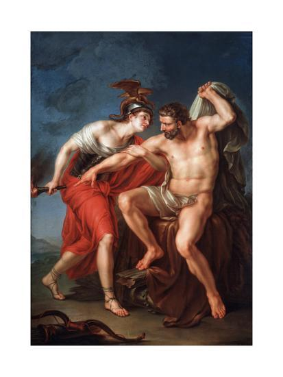 The Self-Immolation of Hercules, 1782-Ivan Akimovich Akimov-Giclee Print