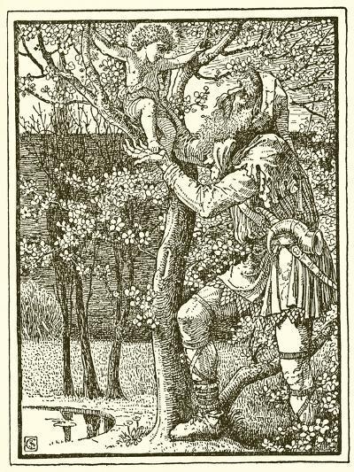 The Selfish Giant-Walter Crane-Giclee Print