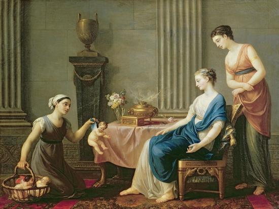 The Seller of Loves, 1763-Joseph-marie, The Elder Vien-Giclee Print