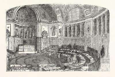The Senate House of the Luxembourg Palace, Paris--Giclee Print