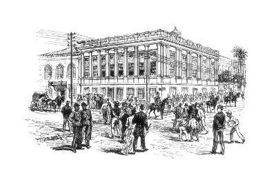 The Senate House, Rio De Janeiro, Brazil, 1892--Giclee Print
