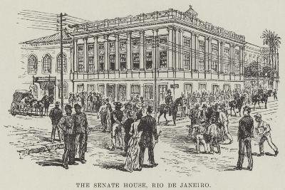 The Senate House, Rio De Janeiro--Giclee Print