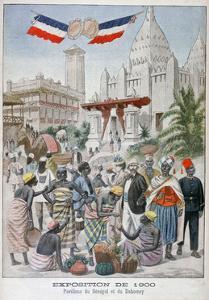 The Sengalise Pavilion at the Universal Exhibition of 1900, Paris, 1900