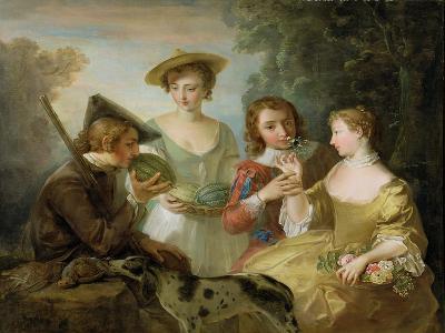 The Sense of Smell, c.1744-47-Philippe Mercier-Giclee Print