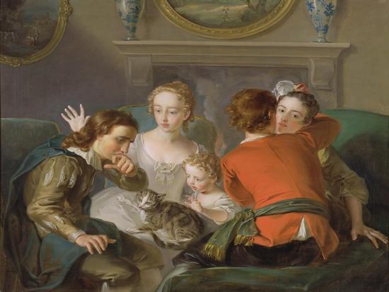 The Sense of Touch, c.1744-47-Philippe Mercier-Giclee Print