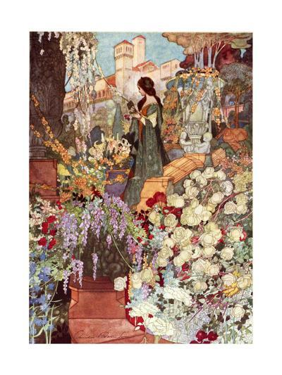 The Sensitive Plant, Robinson-Charles Robinson-Giclee Print
