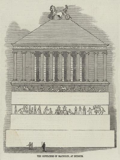 The Sepulchre of Mausolus, at Budrum--Giclee Print