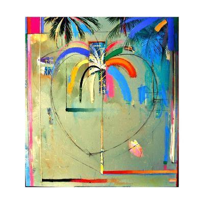 The Serendipity Peek-A-Boo Palm (Hello Freedom)-Andrew Hewkin-Giclee Print