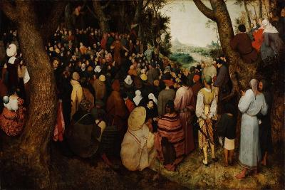 The Sermon of Saint John the Baptist-Pieter Bruegel the Elder-Giclee Print