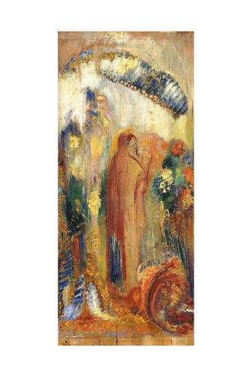 The Sermon-Odilon Redon-Giclee Print
