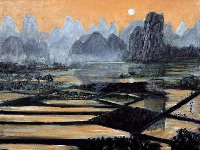 The Setting Sun, 1996-Komi Chen-Giclee Print