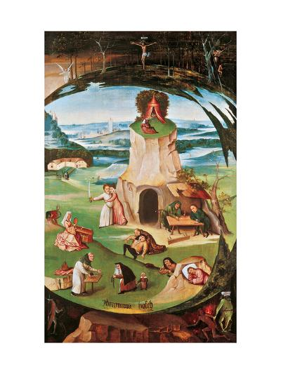 The Seven Deadly Sins-Hieronymus Bosch-Giclee Print