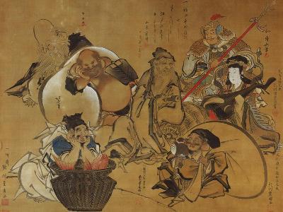 The Seven Gods of Fortune-Masolino Da Panicale-Giclee Print