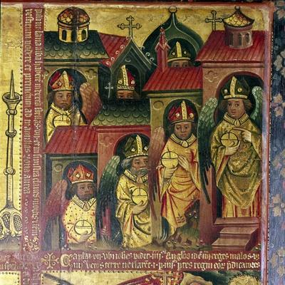The Seven Letters to the Seven Churches, 14th-15th century-Master Bertram of Hamburg-Framed Giclee Print