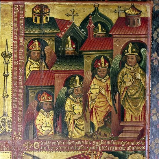The Seven Letters to the Seven Churches, 14th-15th century-Master Bertram of Hamburg-Giclee Print