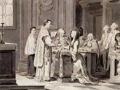 The Seven Sacraments: Marriage, 1779-Pietro Antonio Novelli-Giclee Print