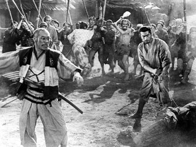 The Seven Samurai, (aka Shichinin No Samurai), Takashi Shimura, Toshiro Mifune, 1954