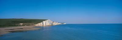 The Seven Sisters at Beachy Head Sussex England--Photographic Print