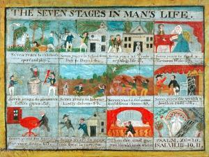 The Seven Stages in Man's Life