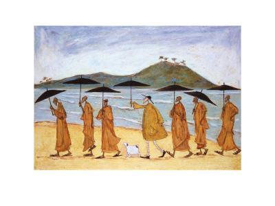 The Seven Umbrellas of Enlightenment-Sam Toft-Art Print