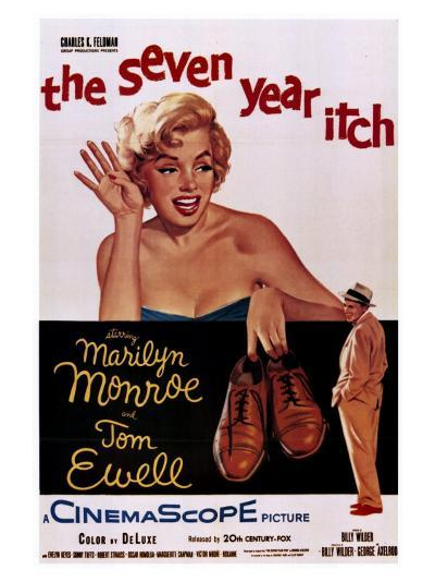 The Seven Year Itch, 1955--Art Print