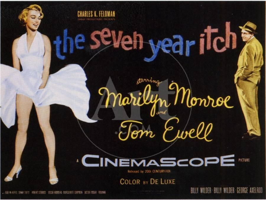 Image result for the seven-year itch