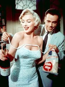 The Seven Year Itch by Billy Wilder with Marilyn Monroe and Tom Ewell, 1955
