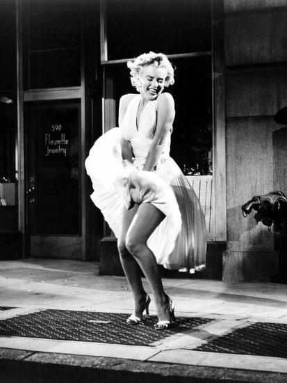The Seven Year Itch, Marilyn Monroe, 1955--Photo