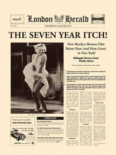 The Seven Year Itch-The Vintage Collection-Art Print