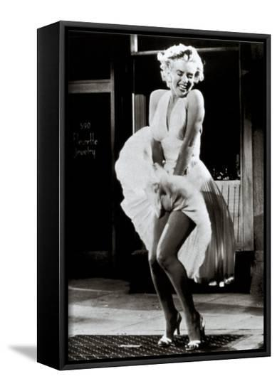 The Seven Year Itch-The Chelsea Collection-Framed Canvas Print