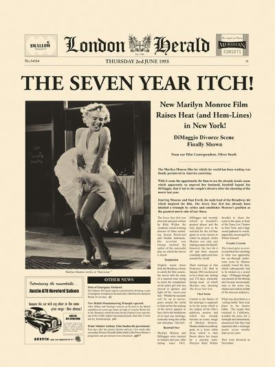 The Seven Year Itch-The Vintage Collection-Giclee Print
