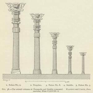 The Several Columns at Persepolis and Istakhr Compared