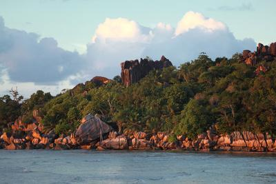 The Seychelles, La Digue, Pointe Cap Barbi-Catharina Lux-Photographic Print