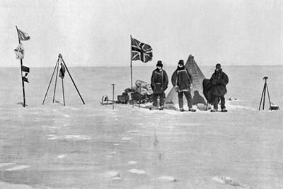 The Shackleton Camp, Antarctica, Christmas Day, 1908