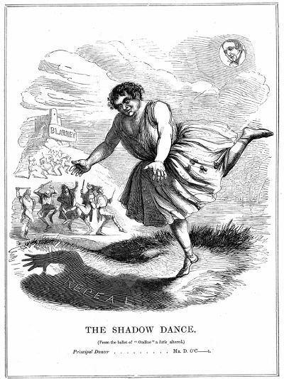 The Shadow Dance, 1843--Giclee Print