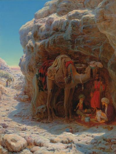 The Shadow of a Rock-William J^ Webbe-Giclee Print