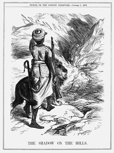The Shadow on the Hills, 1878-Joseph Swain-Giclee Print