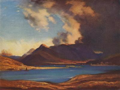 The Shadows of Glencoe, 1925-David Young Cameron-Giclee Print