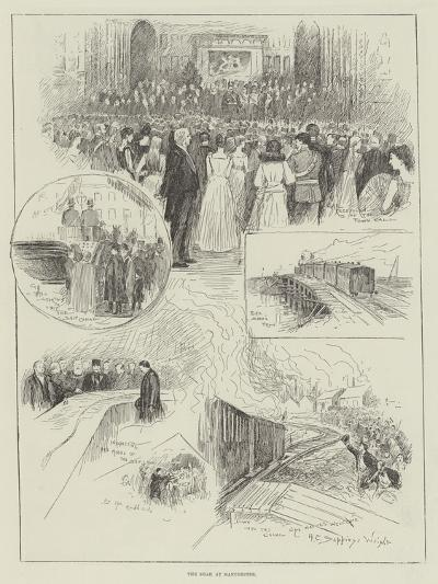 The Shah at Manchester-Henry Charles Seppings Wright-Giclee Print