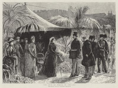 The Shah of Persia in England--Giclee Print