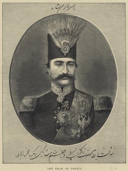 The Shah of Persia--Giclee Print