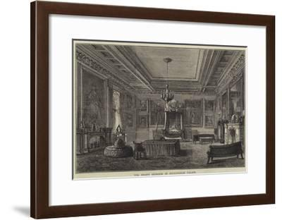 The Shah's Bedroom in Buckingham Palace--Framed Giclee Print