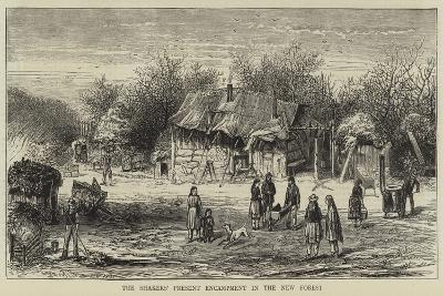 The Shaker's Present Encampment in the New Forest--Giclee Print