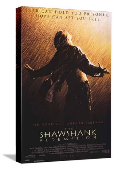 The Shawshank Redemption--Stretched Canvas Print