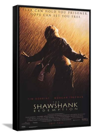 The Shawshank Redemption--Framed Canvas Print